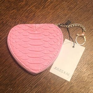 Jules Kae Heart Coin Purse